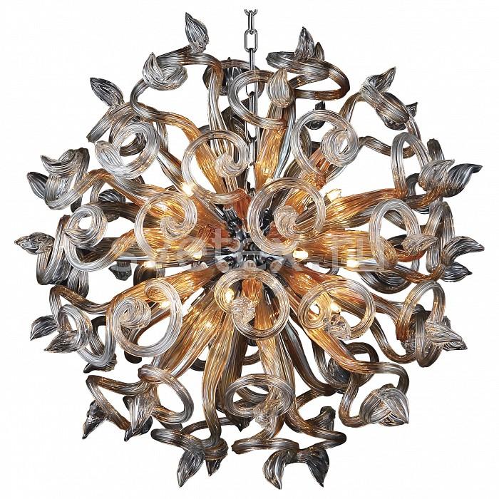 Подвесная люстра LightstarБолее 6 ламп<br>Артикул - LS_890184,Бренд - Lightstar (Италия),Коллекция - Medusa,Гарантия, месяцы - 24,Время изготовления, дней - 1,Высота, мм - 900-1900,Диаметр, мм - 800,Тип лампы - галогеновая,Общее кол-во ламп - 18,Напряжение питания лампы, В - 220,Максимальная мощность лампы, Вт - 40,Цвет лампы - белый теплый,Лампы в комплекте - галогеновые G4,Цвет плафонов и подвесок - неокрашенный, янтарный,Тип поверхности плафонов - прозрачный,Материал плафонов и подвесок - стекло,Цвет арматуры - коричневый,Тип поверхности арматуры - глянцевый,Материал арматуры - металл,Возможность подлючения диммера - можно,Форма и тип колбы - пальчиковая,Тип цоколя лампы - G9,Цветовая температура, K - 2800 - 3200 K,Экономичнее лампы накаливания - на 50%,Класс электробезопасности - I,Общая мощность, Вт - 720,Степень пылевлагозащиты, IP - 20,Диапазон рабочих температур - комнатная температура<br>