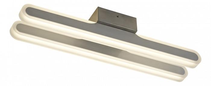 Накладной светильник MantraСветодиодные<br>Артикул - MN_5581,Бренд - Mantra (Испания),Коллекция - Zurich,Гарантия, месяцы - 24,Длина, мм - 440,Ширина, мм - 100,Высота, мм - 80,Тип лампы - светодиодная [LED],Общее кол-во ламп - 2,Напряжение питания лампы, В - 220,Максимальная мощность лампы, Вт - 10.5,Цвет лампы - белый,Лампы в комплекте - светодиодные [LED],Цвет плафонов и подвесок - белый,Тип поверхности плафонов - матовый,Материал плафонов и подвесок - акрил,Цвет арматуры - хром,Тип поверхности арматуры - глянцевый,Материал арматуры - металл,Количество плафонов - 2,Возможность подлючения диммера - нельзя,Цветовая температура, K - 4000 K,Световой поток, лм - 1100,Экономичнее лампы накаливания - в 4.4 раза,Светоотдача, лм/Вт - 52,Класс электробезопасности - I,Общая мощность, Вт - 21,Степень пылевлагозащиты, IP - 20,Диапазон рабочих температур - комнатная температура,Дополнительные параметры - способ крепления светильника к потолку  – на монтажной пластине<br>