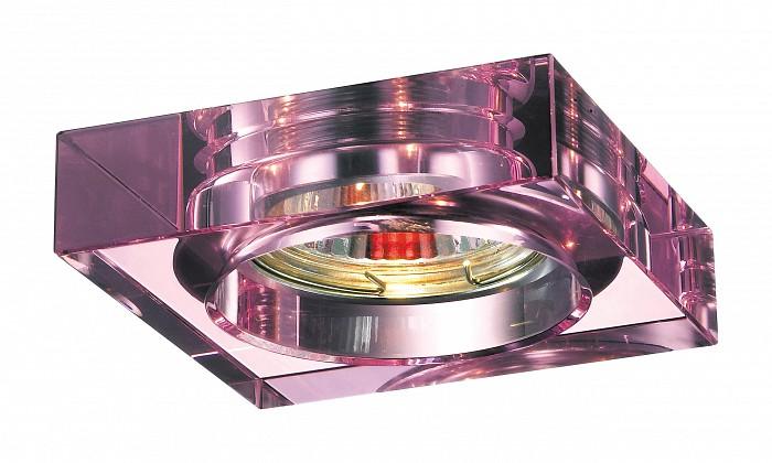 Фото Встраиваемый светильник Novotech Glass 369484