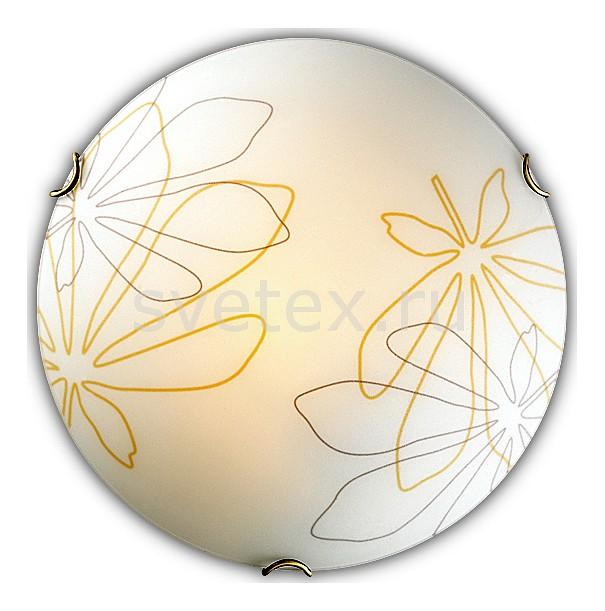 Накладной светильник SonexКруглые<br>Артикул - SN_142_K,Бренд - Sonex (Россия),Коллекция - Mortia,Гарантия, месяцы - 24,Выступ, мм - 100,Диаметр, мм - 300,Тип лампы - компактная люминесцентная [КЛЛ] ИЛИнакаливания ИЛИсветодиодная [LED],Общее кол-во ламп - 2,Напряжение питания лампы, В - 220,Максимальная мощность лампы, Вт - 60,Лампы в комплекте - отсутствуют,Цвет плафонов и подвесок - белый с желто-черным рисунком,Тип поверхности плафонов - матовый,Материал плафонов и подвесок - стекло,Цвет арматуры - золото,Тип поверхности арматуры - глянцевый,Материал арматуры - металл,Количество плафонов - 1,Возможность подлючения диммера - можно, если установить лампу накаливания,Тип цоколя лампы - E27,Класс электробезопасности - I,Общая мощность, Вт - 120,Степень пылевлагозащиты, IP - 20,Диапазон рабочих температур - комнатная температура<br>