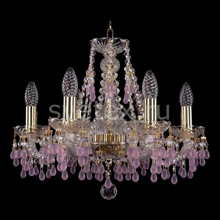 Фото Подвесная люстра Bohemia Ivele Crystal 1410 1410/6/160/G/7010