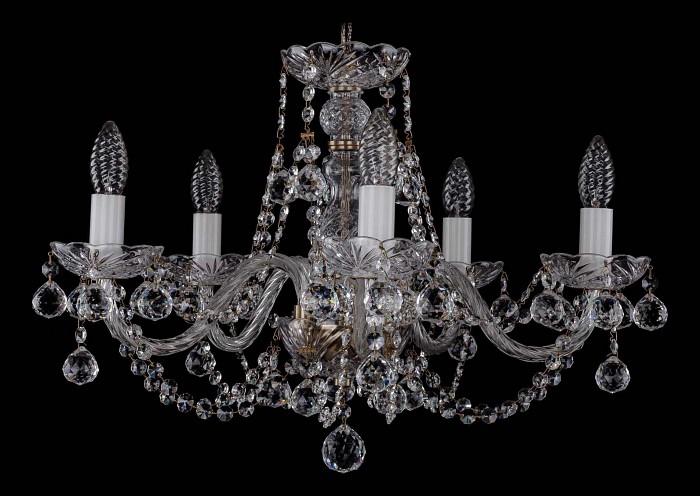 Фото Подвесная люстра Bohemia Ivele Crystal 1406 1406/5/195/Pa/Balls