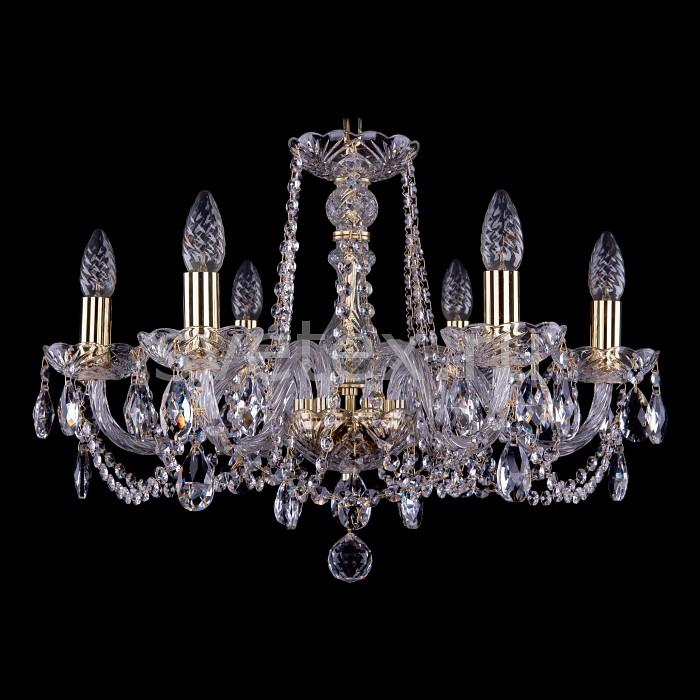 Фото Подвесная люстра Bohemia Ivele Crystal 1402 1402/6/195/G