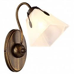 Бра Arte LampС 1 лампой<br>Артикул - AR_A9233AP-1BR,Бренд - Arte Lamp (Италия),Коллекция - Avanti,Гарантия, месяцы - 24,Высота, мм - 280,Тип лампы - компактная люминесцентная [КЛЛ] ИЛИнакаливания ИЛИсветодиодная [LED],Общее кол-во ламп - 1,Напряжение питания лампы, В - 220,Максимальная мощность лампы, Вт - 40,Лампы в комплекте - отсутствуют,Цвет плафонов и подвесок - белый алебастр,Тип поверхности плафонов - матовый,Материал плафонов и подвесок - стекло,Цвет арматуры - коричневый,Тип поверхности арматуры - глянцевый, матовый,Материал арматуры - металл,Возможность подлючения диммера - можно, если установить лампу накаливания,Тип цоколя лампы - E27,Класс электробезопасности - I,Степень пылевлагозащиты, IP - 20,Диапазон рабочих температур - комнатная температура,Дополнительные параметры - светильник предназначен для использования со скрытой проводкой<br>