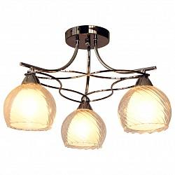Потолочная люстра IDLampНе более 4 ламп<br>Артикул - ID_873_3PF-Darkchrome,Бренд - IDLamp (Италия),Коллекция - 873,Гарантия, месяцы - 24,Высота, мм - 300,Диаметр, мм - 460,Тип лампы - компактная люминесцентная [КЛЛ] ИЛИнакаливания ИЛИсветодиодная [LED],Общее кол-во ламп - 3,Напряжение питания лампы, В - 220,Максимальная мощность лампы, Вт - 40,Лампы в комплекте - отсутствуют,Цвет плафонов и подвесок - белый, неокрашенный,Тип поверхности плафонов - матовый, прозрачный, рельефный,Материал плафонов и подвесок - стекло,Цвет арматуры - хром черненный,Тип поверхности арматуры - глянцевый,Материал арматуры - металл,Количество плафонов - 3,Возможность подлючения диммера - можно, если установить лампу накаливания,Тип цоколя лампы - E27,Общая мощность, Вт - 120,Степень пылевлагозащиты, IP - 20,Диапазон рабочих температур - комнатная температура<br>