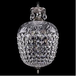 Подвесной светильник Bohemia Ivele CrystalС 1 плафоном<br>Артикул - BI_1677_30_NB,Бренд - Bohemia Ivele Crystal (Чехия),Коллекция - 1677,Гарантия, месяцы - 24,Высота, мм - 450,Диаметр, мм - 300,Размер упаковки, мм - 450x450x200,Тип лампы - компактная люминесцентная [КЛЛ] ИЛИнакаливания ИЛИсветодиодная [LED],Общее кол-во ламп - 5,Напряжение питания лампы, В - 220,Максимальная мощность лампы, Вт - 40,Лампы в комплекте - отсутствуют,Цвет плафонов и подвесок - неокрашенный,Тип поверхности плафонов - прозрачный,Материал плафонов и подвесок - стекло, хрусталь,Цвет арматуры - никель черненый,Тип поверхности арматуры - глянцевый, рельефный,Материал арматуры - латунь, стекло,Возможность подлючения диммера - можно, если установить лампу накаливания,Тип цоколя лампы - E14,Класс электробезопасности - I,Общая мощность, Вт - 200,Степень пылевлагозащиты, IP - 20,Диапазон рабочих температур - комнатная температура,Дополнительные параметры - способ крепления светильника к потолку - на крюке, указана высота светильника без подвеса<br>