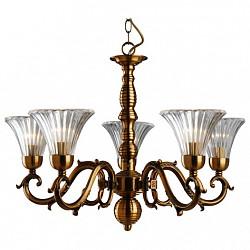 Подвесная люстра Arte Lamp5 или 6 ламп<br>Артикул - AR_A9440LM-5RB,Бренд - Arte Lamp (Италия),Коллекция - Lancaster,Гарантия, месяцы - 24,Высота, мм - 450-1030,Диаметр, мм - 670,Тип лампы - компактная люминесцентная [КЛЛ] ИЛИнакаливания ИЛИсветодиодная [LED],Общее кол-во ламп - 5,Напряжение питания лампы, В - 220,Максимальная мощность лампы, Вт - 60,Лампы в комплекте - отсутствуют,Цвет плафонов и подвесок - неокрашенный,Тип поверхности плафонов - прозрачный, рельефный,Материал плафонов и подвесок - стекло,Цвет арматуры - красная бронза,Тип поверхности арматуры - глянцевый,Материал арматуры - литье,Количество плафонов - 5,Возможность подлючения диммера - можно, если установить лампу накаливания,Тип цоколя лампы - E14,Класс электробезопасности - I,Общая мощность, Вт - 300,Степень пылевлагозащиты, IP - 20,Диапазон рабочих температур - комнатная температура<br>