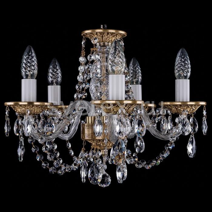 Фото Подвесная люстра Bohemia Ivele Crystal 1606 1606/5/141/FP