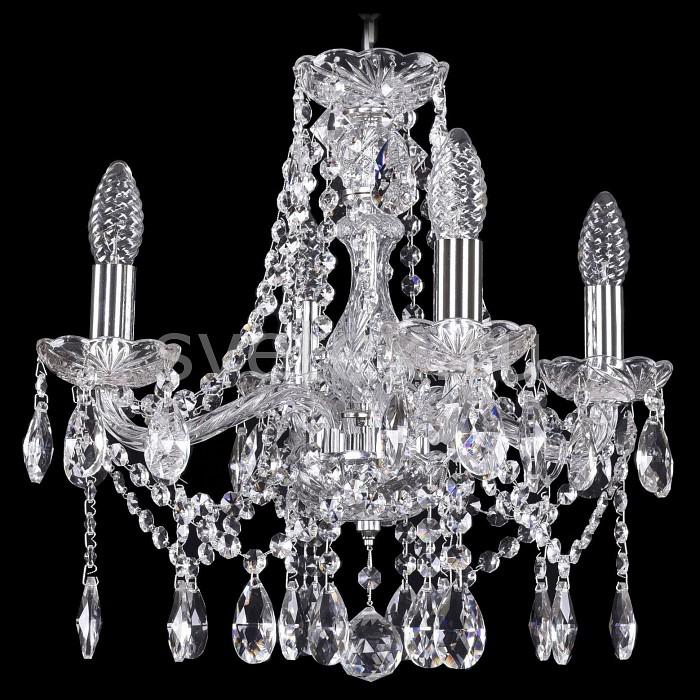 Подвесная люстра Bohemia Ivele CrystalНе более 4 ламп<br>Артикул - BI_1413_4_141_Ni,Бренд - Bohemia Ivele Crystal (Чехия),Коллекция - 1413,Гарантия, месяцы - 24,Высота, мм - 480,Диаметр, мм - 470,Размер упаковки, мм - 450x450x200,Тип лампы - компактная люминесцентная [КЛЛ] ИЛИнакаливания ИЛИсветодиодная [LED],Общее кол-во ламп - 4,Напряжение питания лампы, В - 220,Максимальная мощность лампы, Вт - 40,Лампы в комплекте - отсутствуют,Цвет плафонов и подвесок - неокрашенный,Тип поверхности плафонов - прозрачный,Материал плафонов и подвесок - хрусталь,Цвет арматуры - никель, неокрашенный,Тип поверхности арматуры - матовый, прозрачный,Материал арматуры - металл, стекло,Возможность подлючения диммера - можно, если установить лампу накаливания,Форма и тип колбы - свеча ИЛИ свеча на ветру,Тип цоколя лампы - E14,Класс электробезопасности - I,Общая мощность, Вт - 160,Степень пылевлагозащиты, IP - 20,Диапазон рабочих температур - комнатная температура,Дополнительные параметры - способ крепления светильника к потолку - на крюке, указана высота светильники без подвеса<br>
