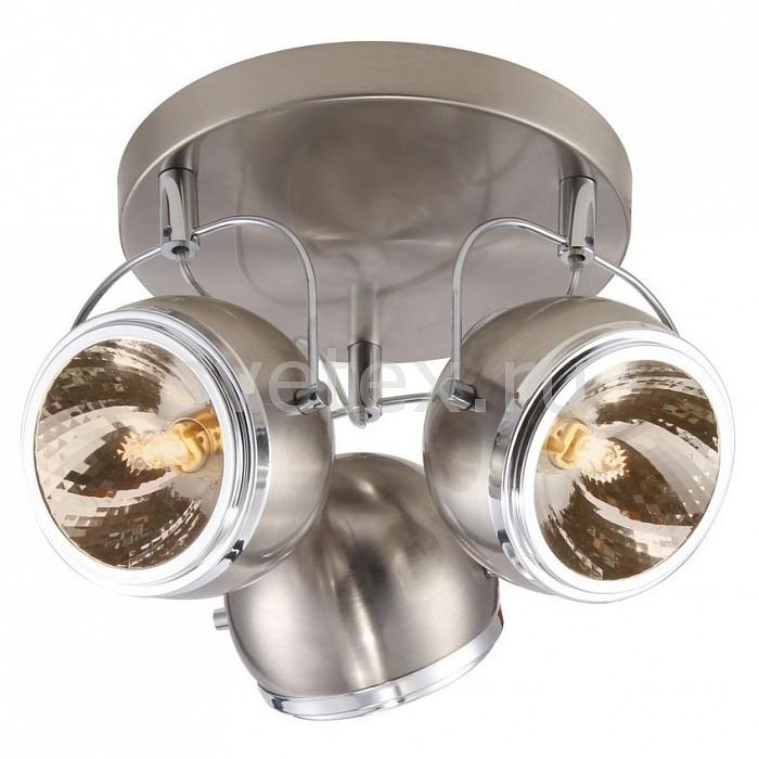 Спот Arte LampСпоты<br>Артикул - AR_A4508PL-3SS,Бренд - Arte Lamp (Италия),Коллекция - Orbiter,Гарантия, месяцы - 24,Выступ, мм - 170,Диаметр, мм - 270,Тип лампы - галогеновая ИЛИсветодиодная [LED],Общее кол-во ламп - 3,Напряжение питания лампы, В - 220,Максимальная мощность лампы, Вт - 40,Лампы в комплекте - отсутствуют,Цвет плафонов и подвесок - серебро с каймой,Тип поверхности плафонов - матовый,Материал плафонов и подвесок - металл,Цвет арматуры - серебро,Тип поверхности арматуры - матовый,Материал арматуры - металл,Количество плафонов - 3,Возможность подлючения диммера - можно, если установить галогеновую лампу,Компоненты, входящие в комплект - рефлектор,Форма и тип колбы - пальчиковая,Тип цоколя лампы - G9,Класс электробезопасности - I,Общая мощность, Вт - 120,Степень пылевлагозащиты, IP - 20,Диапазон рабочих температур - комнатная температура,Дополнительные параметры - способ крепления светильника к стене и потолку - на монтажной пластине, повоторный светильник<br>