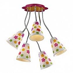 Накладной светильник Odeon LightСветодиодные<br>Артикул - OD_2280_5,Бренд - Odeon Light (Италия),Коллекция - Flau,Гарантия, месяцы - 24,Высота, мм - 500,Диаметр, мм - 350,Тип лампы - компактная люминесцентная [КЛЛ] ИЛИнакаливания ИЛИсветодиодная [LED],Общее кол-во ламп - 5,Напряжение питания лампы, В - 220,Максимальная мощность лампы, Вт - 40,Лампы в комплекте - отсутствуют,Цвет плафонов и подвесок - белый с цветным рисунком,Тип поверхности плафонов - матовый,Материал плафонов и подвесок - текстиль,Цвет арматуры - желтый, розовый, хром,Тип поверхности арматуры - глянцевый,Материал арматуры - металл,Возможность подлючения диммера - можно, если установить лампу накаливания,Тип цоколя лампы - E14,Класс электробезопасности - I,Общая мощность, Вт - 200,Степень пылевлагозащиты, IP - 20,Диапазон рабочих температур - комнатная температура,Дополнительные параметры - диаметр основания светильника 350 мм<br>