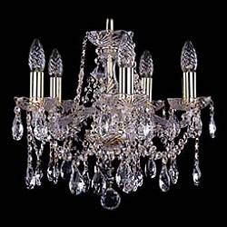 Подвесная люстра Bohemia Ivele Crystal5 или 6 ламп<br>Артикул - BI_1413_5_141_G,Бренд - Bohemia Ivele Crystal (Чехия),Коллекция - 1413,Гарантия, месяцы - 24,Высота, мм - 340,Диаметр, мм - 420,Размер упаковки, мм - 450x450x200,Тип лампы - компактная люминесцентная [КЛЛ] ИЛИнакаливания ИЛИсветодиодная [LED],Общее кол-во ламп - 5,Напряжение питания лампы, В - 220,Максимальная мощность лампы, Вт - 40,Лампы в комплекте - отсутствуют,Цвет плафонов и подвесок - неокрашенный,Тип поверхности плафонов - прозрачный,Материал плафонов и подвесок - хрусталь,Цвет арматуры - золото, неокрашенный,Тип поверхности арматуры - глянцевый, прозрачный, рельефный,Материал арматуры - металл, стекло,Возможность подлючения диммера - можно, если установить лампу накаливания,Форма и тип колбы - свеча ИЛИ свеча на ветру,Тип цоколя лампы - E14,Класс электробезопасности - I,Общая мощность, Вт - 200,Степень пылевлагозащиты, IP - 20,Диапазон рабочих температур - комнатная температура,Дополнительные параметры - способ крепления светильника к потолку - на крюке, указана высота светильника без подвеса<br>