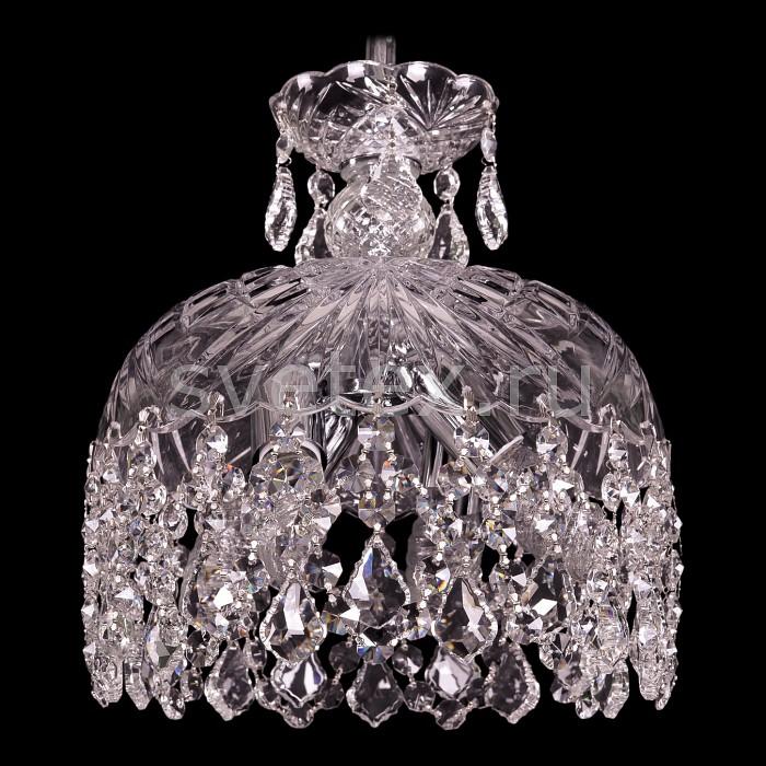 Фото Подвесной светильник Bohemia Ivele Crystal 7711 7711/25/Ni/Leafs