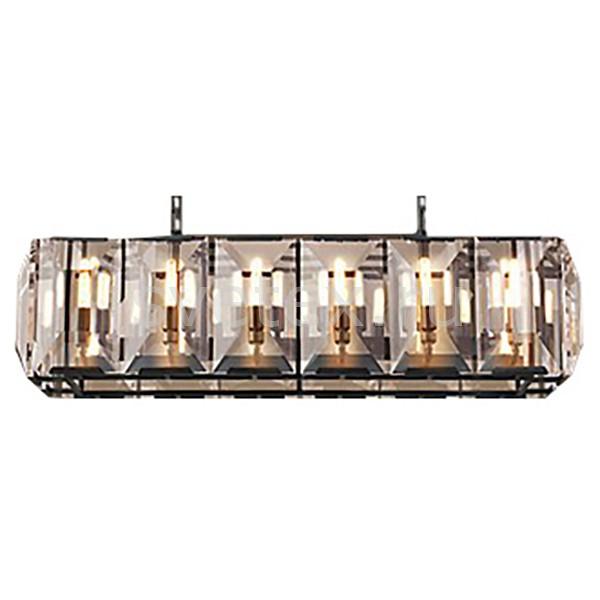 Подвесной светильник Restoration HardwareПодвесные светильники<br>Артикул - RMR_H-FAC-LP-0004-U,Бренд - Restoration Hardware (США),Коллекция - Харлоу Кристалл,Гарантия, месяцы - 12,Длина, мм - 1054,Ширина, мм - 420,Высота, мм - 320,Тип лампы - компактная люминесцентная [КЛЛ] ИЛИнакаливания ИЛИсветодиодная [LED],Общее кол-во ламп - 6,Напряжение питания лампы, В - 220,Максимальная мощность лампы, Вт - 25,Лампы в комплекте - отсутствуют,Цвет плафонов и подвесок - неокрашенный,Тип поверхности плафонов - прозрачный,Материал плафонов и подвесок - хрусталь,Цвет арматуры - хром,Тип поверхности арматуры - глянцевый,Материал арматуры - металл,Количество плафонов - 1,Возможность подлючения диммера - можно, если установить лампу накаливания,Форма и тип колбы - свеча,Тип цоколя лампы - E14,Класс электробезопасности - I,Общая мощность, Вт - 150,Степень пылевлагозащиты, IP - 20,Диапазон рабочих температур - комнатная температура,Дополнительные параметры - указана высота светильника без подвеса<br>