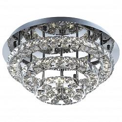 Потолочная люстра Odeon LightСветодиодные<br>Артикул - OD_2710_44L,Бренд - Odeon Light (Италия),Коллекция - Mairi,Гарантия, месяцы - 24,Высота, мм - 240,Диаметр, мм - 500,Тип лампы - светодиодная [LED],Общее кол-во ламп - 3,Напряжение питания лампы, В - 220,Максимальная мощность лампы, Вт - 14.67,Лампы в комплекте - светодиодные [LED],Цвет плафонов и подвесок - неокрашенный,Тип поверхности плафонов - прозрачный,Материал плафонов и подвесок - хрусталь,Цвет арматуры - хром,Тип поверхности арматуры - глянцевый,Материал арматуры - металл,Возможность подлючения диммера - нельзя,Класс электробезопасности - I,Общая мощность, Вт - 44,Степень пылевлагозащиты, IP - 20,Диапазон рабочих температур - комнатная температура<br>