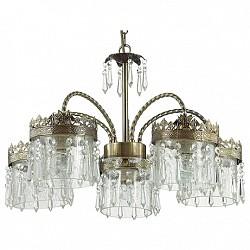 Подвесная люстра Lumion5 или 6 ламп<br>Артикул - LMN_3480_5,Бренд - Lumion (Италия),Коллекция - Foresto,Гарантия, месяцы - 24,Высота, мм - 360-955,Диаметр, мм - 570,Размер упаковки, мм - 180x450x350,Тип лампы - компактная люминесцентная [КЛЛ] ИЛИнакаливания ИЛИсветодиодная [LED],Общее кол-во ламп - 5,Напряжение питания лампы, В - 220,Максимальная мощность лампы, Вт - 60,Лампы в комплекте - отсутствуют,Цвет плафонов и подвесок - неокрашенный,Тип поверхности плафонов - прозрачный,Материал плафонов и подвесок - стекло, хрусталь,Цвет арматуры - бронза,Тип поверхности арматуры - матовый,Материал арматуры - металл,Возможность подлючения диммера - можно, если установить лампу накаливания,Тип цоколя лампы - E14,Класс электробезопасности - I,Общая мощность, Вт - 300,Степень пылевлагозащиты, IP - 20,Диапазон рабочих температур - комнатная температура,Дополнительные параметры - способ крепления светильника к потолку - на крюке, регулируется по высоте<br>