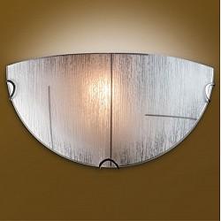 Накладной светильник SonexСветодиодные<br>Артикул - SN_055,Бренд - Sonex (Россия),Коллекция - Lint,Гарантия, месяцы - 24,Высота, мм - 150,Тип лампы - компактная люминесцентная [КЛЛ] ИЛИнакаливания ИЛИсветодиодная [LED],Общее кол-во ламп - 1,Напряжение питания лампы, В - 220,Максимальная мощность лампы, Вт - 100,Лампы в комплекте - отсутствуют,Цвет плафонов и подвесок - белый с коричневым рисунком,Тип поверхности плафонов - рельефный, матовый,Материал плафонов и подвесок - стекло,Цвет арматуры - хром,Тип поверхности арматуры - глянцевый,Материал арматуры - металл,Возможность подлючения диммера - можно, если установить лампу накаливания,Тип цоколя лампы - E27,Класс электробезопасности - I,Степень пылевлагозащиты, IP - 20,Диапазон рабочих температур - комнатная температура<br>