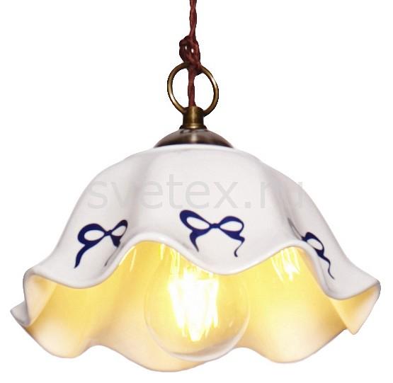 Подвесной светильник Lucia TucciСветодиодные<br>Артикул - LT_PALERMO_653.1,Бренд - Lucia Tucci (Италия),Коллекция - Palermo,Гарантия, месяцы - 24,Высота, мм - 170,Диаметр, мм - 220,Тип лампы - компактная люминесцентная [КЛЛ] ИЛИнакаливания ИЛИсветодиодная [LED],Общее кол-во ламп - 1,Напряжение питания лампы, В - 220,Максимальная мощность лампы, Вт - 60,Лампы в комплекте - отсутствуют,Цвет плафонов и подвесок - белый с синем рисунком,Тип поверхности плафонов - матовый,Материал плафонов и подвесок - керамика,Цвет арматуры - бронза,Тип поверхности арматуры - матовый,Материал арматуры - металл,Количество плафонов - 1,Возможность подлючения диммера - можно, если установить лампу накаливания,Тип цоколя лампы - E27,Класс электробезопасности - I,Степень пылевлагозащиты, IP - 20,Диапазон рабочих температур - комнатная температура,Дополнительные параметры - способ крепления светильника к потолку - на монтажной пластине, указана высота светильники без подвеса<br>