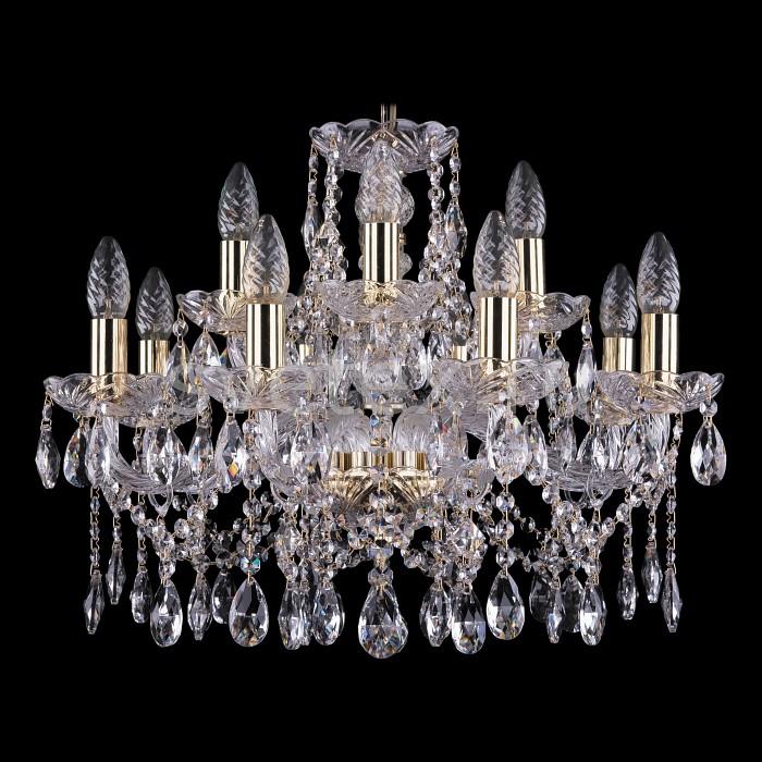 Фото Подвесная люстра Bohemia Ivele Crystal 1413 1413/8_4/200/G