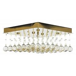 Накладной светильник Arti LampadariКвадратные<br>Артикул - AL_Flusso_H_1.4.40.616_G,Бренд - Arti Lampadari (Италия),Коллекция - Flusso,Гарантия, месяцы - 24,Время изготовления, дней - 1,Высота, мм - 660,Тип лампы - галогеновая ИЛИсветодиодная [LED],Общее кол-во ламп - 6,Напряжение питания лампы, В - 220,Максимальная мощность лампы, Вт - 40,Лампы в комплекте - отсутствуют,Цвет плафонов и подвесок - неокрашенные,Тип поверхности плафонов - прозрачный,Материал плафонов и подвесок - хрусталь,Цвет арматуры - золото,Тип поверхности арматуры - глянцевый,Материал арматуры - металл,Возможность подлючения диммера - можно, если установить лампу накаливания,Форма и тип колбы - пальчиковая,Тип цоколя лампы - G9,Класс электробезопасности - I,Общая мощность, Вт - 240,Степень пылевлагозащиты, IP - 20,Диапазон рабочих температур - комнатная температура,Дополнительные параметры - способ крепления светильника к потолку – на монтажной пластине<br>