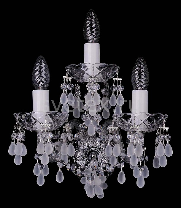 Фото Бра Bohemia Ivele Crystal 1410 1410/3/Ni/0300