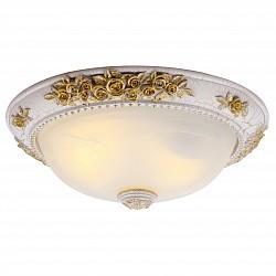 Накладной светильник Arte LampКруглые<br>Артикул - AR_A7102PL-2WG,Бренд - Arte Lamp (Италия),Коллекция - Torta,Гарантия, месяцы - 24,Высота, мм - 160,Диаметр, мм - 420,Тип лампы - компактная люминесцентная [КЛЛ] ИЛИнакаливания ИЛИсветодиодная [LED],Общее кол-во ламп - 2,Напряжение питания лампы, В - 220,Максимальная мощность лампы, Вт - 60,Лампы в комплекте - отсутствуют,Цвет плафонов и подвесок - белый алебастр,Тип поверхности плафонов - матовый,Материал плафонов и подвесок - стекло,Цвет арматуры - белый, золото,Тип поверхности арматуры - глянцевый,Материал арматуры - полимер,Возможность подлючения диммера - можно, если установить лампу накаливания,Тип цоколя лампы - E27,Класс электробезопасности - I,Общая мощность, Вт - 120,Степень пылевлагозащиты, IP - 20,Диапазон рабочих температур - комнатная температура<br>