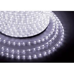 Шнур световой Неон-НайтШнуры световые (дюралайт)<br>Артикул - NN_121-125,Бренд - Неон-Найт (Россия),Коллекция - NN-LED-2W,Время изготовления, дней - 1,Тип лампы - светодиодная [LED],Общее кол-во ламп - 36,Напряжение питания лампы, В - 220,Максимальная мощность лампы, Вт - 0.07,Лампы в комплекте - светодиодные [LED],Класс электробезопасности - II,Общая мощность, Вт - 2,Степень пылевлагозащиты, IP - 54,Диапазон рабочих температур - от -40^C до +60^C,Дополнительные параметры - шнур световой (дюралайт) двухжилный одноканальный:с шагом светодиодов 27.7 мм, модуль резки 2 м, бухта 100 м, параметры, включая стоимость, указаны на 1 м.<br>