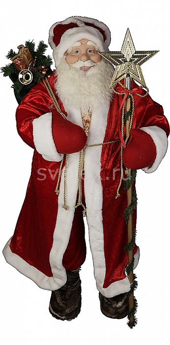 Фото Дед Мороз Mister Christmas x 1.22 м Дед Мороз