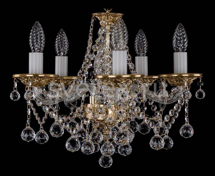 Фото Подвесная люстра Bohemia Ivele Crystal 1613 1613/5/141/Balls