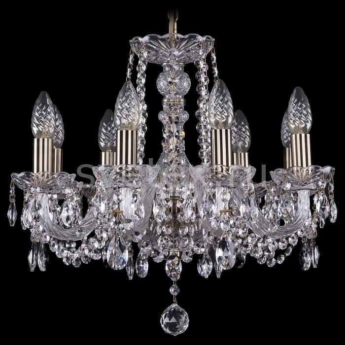Фото Подвесная люстра Bohemia Ivele Crystal 1402 1402/8/160/Pa