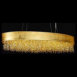 Подвесной светильник Lucia TucciС 1 плафоном<br>Артикул - LT_fabian_1550.17_oro_LED,Бренд - Lucia Tucci (Италия),Коллекция - Fabian,Гарантия, месяцы - 24,Высота, мм - 1500,Тип лампы - светодиодная [LED],Общее кол-во ламп - 17,Напряжение питания лампы, В - 220,Максимальная мощность лампы, Вт - 5,Лампы в комплекте - светодиодные [LED],Цвет плафонов и подвесок - желтый, золотой, неокрашенный,Тип поверхности плафонов - глянцевый, прозрачный,Материал плафонов и подвесок - сталь, хрусталь,Цвет арматуры - золото,Тип поверхности арматуры - глянцевый,Материал арматуры - сталь,Возможность подлючения диммера - нельзя,Класс электробезопасности - I,Общая мощность, Вт - 85,Степень пылевлагозащиты, IP - 20,Диапазон рабочих температур - комнатная температура,Дополнительные параметры - регулируется по высоте,  способ крепления светильника к потолку – на монтажной пластине<br>
