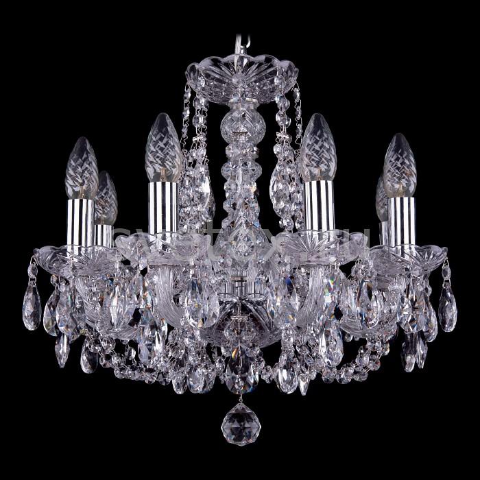 Фото Подвесная люстра Bohemia Ivele Crystal 1406 1406/8/141/Ni