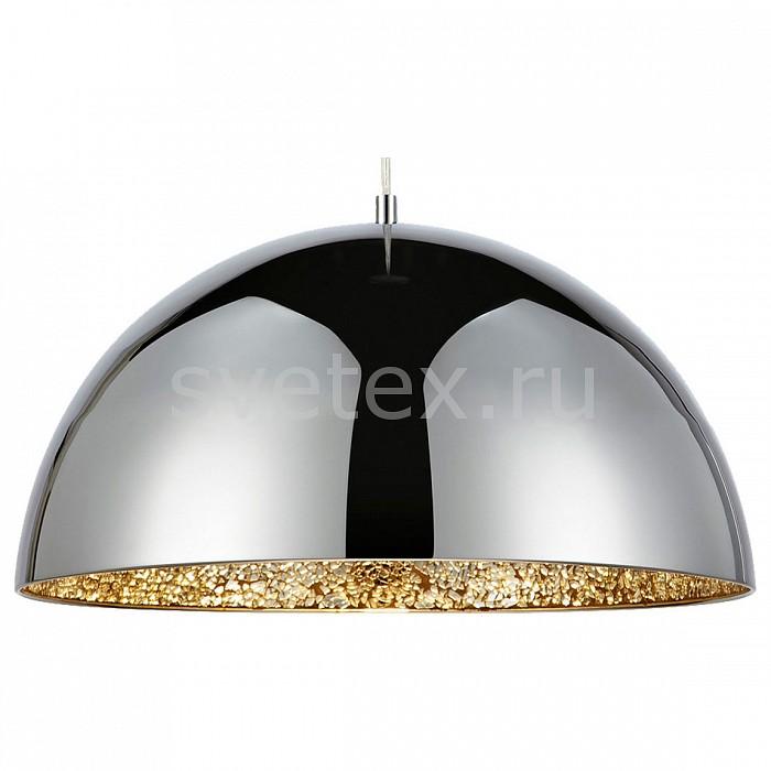 Подвесной светильник LussoleБарные<br>Артикул - LSP-9972,Бренд - Lussole (Италия),Коллекция - LOFT,Гарантия, месяцы - 24,Время изготовления, дней - 1,Высота, мм - 200-1500,Диаметр, мм - 400,Тип лампы - компактная люминесцентная [КЛЛ] ИЛИнакаливания ИЛИсветодиодная [LED],Общее кол-во ламп - 1,Напряжение питания лампы, В - 220,Максимальная мощность лампы, Вт - 60,Лампы в комплекте - отсуствуют,Цвет плафонов и подвесок - золото, хром,Тип поверхности плафонов - матовый,Материал плафонов и подвесок - металл, стекло,Цвет арматуры - хром,Тип поверхности арматуры - глянцевый,Материал арматуры - металл,Количество плафонов - 1,Возможность подлючения диммера - можно, если подключить лампу накаливания,Тип цоколя лампы - E27,Класс электробезопасности - I,Степень пылевлагозащиты, IP - 20,Диапазон рабочих температур - комнатная температура,Дополнительные параметры - способ крепления к потолку - на монтажной пластине<br>