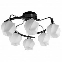 Потолочная люстра TopLight5 или 6 ламп<br>Артикул - TPL_TL2750X-06WC,Бренд - TopLight (Россия),Коллекция - Milana,Гарантия, месяцы - 24,Высота, мм - 285,Диаметр, мм - 600,Тип лампы - компактная люминесцентная [КЛЛ] ИЛИнакаливания ИЛИсветодиодная [LED],Общее кол-во ламп - 6,Напряжение питания лампы, В - 220,Максимальная мощность лампы, Вт - 40,Лампы в комплекте - отсутствуют,Цвет плафонов и подвесок - белый,Тип поверхности плафонов - матовый, рельефный,Материал плафонов и подвесок - стекло,Цвет арматуры - венге, хром,Тип поверхности арматуры - глянцевый, матовый,Материал арматуры - металл,Возможность подлючения диммера - можно, если установить лампу накаливания,Тип цоколя лампы - E14,Класс электробезопасности - I,Общая мощность, Вт - 240,Степень пылевлагозащиты, IP - 20,Диапазон рабочих температур - комнатная температура,Дополнительные параметры - способ крепления светильника к потолку - на монтажной пластине<br>