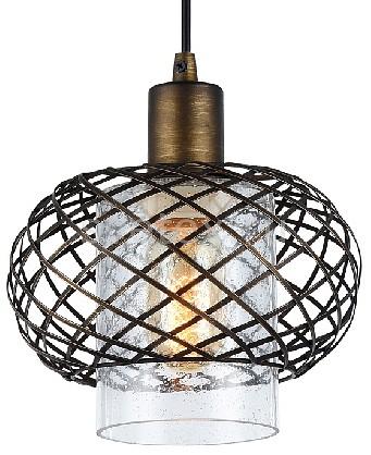 Подвесной светильник FavouriteБарные<br>Артикул - FV_1710-1P,Бренд - Favourite (Германия),Коллекция - Netzwerk,Гарантия, месяцы - 24,Высота, мм - 200-1200,Диаметр, мм - 200,Тип лампы - компактная люминесцентная [КЛЛ] ИЛИнакаливания ИЛИсветодиодная [LED],Общее кол-во ламп - 1,Напряжение питания лампы, В - 220,Максимальная мощность лампы, Вт - 40,Лампы в комплекте - отсутствуют,Цвет плафонов и подвесок - темно-коричневый,Тип поверхности плафонов - матовый,Материал плафонов и подвесок - металл,Цвет арматуры - темно-коричневый,Тип поверхности арматуры - матовый,Материал арматуры - металл,Количество плафонов - 1,Возможность подлючения диммера - можно, если установить лампу накаливания,Тип цоколя лампы - E27,Класс электробезопасности - I,Степень пылевлагозащиты, IP - 20,Диапазон рабочих температур - комнатная температура,Дополнительные параметры - способ крепления светильника к потолку - на монтажной пластине, регулируется по высоте<br>