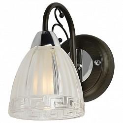 Бра IDLampС 1 лампой<br>Артикул - ID_232_1A-Blackchrome,Бренд - IDLamp (Италия),Коллекция - 232,Высота, мм - 200,Тип лампы - компактная люминесцентная [КЛЛ] ИЛИнакаливания ИЛИсветодиодная [LED],Общее кол-во ламп - 1,Напряжение питания лампы, В - 220,Максимальная мощность лампы, Вт - 60,Лампы в комплекте - отсутствуют,Цвет плафонов и подвесок - неокрашенный,Тип поверхности плафонов - матовый, рельефный,Материал плафонов и подвесок - стекло,Цвет арматуры - венге, хром,Тип поверхности арматуры - глянцевый, матовый,Материал арматуры - металл,Возможность подлючения диммера - можно, если установить лампу накаливания,Тип цоколя лампы - E14,Класс электробезопасности - I,Степень пылевлагозащиты, IP - 20,Диапазон рабочих температур - комнатная температура,Дополнительные параметры - светильник предназначен для использования со скрытой проводкой, способ крепления светильника к стене – на монтажной пластине<br>