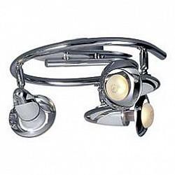 Спот GloboС 3 лампами<br>Артикул - GB_5438-3,Бренд - Globo (Австрия),Коллекция - Lord,Гарантия, месяцы - 24,Диаметр, мм - 300,Тип лампы - компактная люминесцентная [КЛЛ] ИЛИнакаливания ИЛИсветодиодная [LED],Общее кол-во ламп - 3,Напряжение питания лампы, В - 220,Максимальная мощность лампы, Вт - 40,Лампы в комплекте - отсутствуют,Цвет плафонов и подвесок - хром,Тип поверхности плафонов - глянцевый,Материал плафонов и подвесок - сталь,Цвет арматуры - хром, белый,Тип поверхности арматуры - глянцевый,Материал арматуры - сталь,Количество плафонов - 3,Возможность подлючения диммера - можно, если установить лампу накаливания,Тип цоколя лампы - E14,Класс электробезопасности - I,Общая мощность, Вт - 120,Степень пылевлагозащиты, IP - 20,Диапазон рабочих температур - комнатная температура,Дополнительные параметры - поворотный светильник, рефлекторная лампа R50 (диаметр колбы 50 мм) или аналоги<br>