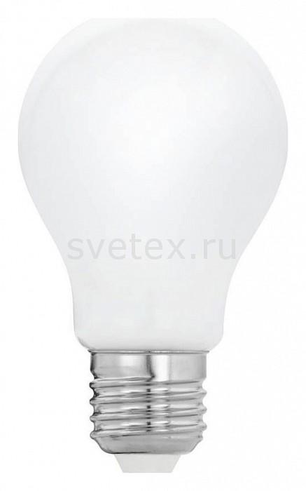 Лампа светодиодная Egloлампы энергосберегающие светодиодные<br>Артикул - EG_11595,Бренд - Eglo (Австрия),Коллекция - Милки,Время изготовления, дней - 1,Высота, мм - 105,Диаметр, мм - 60,Тип лампы - светодиодная [LED],Напряжение питания лампы, В - 220,Максимальная мощность лампы, Вт - 5,Цвет лампы - белый теплый,Форма и тип колбы - груша круглая,Тип цоколя лампы - E27,Цветовая температура, K - 2700 K,Световой поток, лм - 470,Экономичнее лампы накаливания - в 9.4 раза,Светоотдача, лм/Вт - 94,Ресурс лампы - 15 тыс. часов,Дополнительные параметры - стекло белое,Класс энергопотребления - A<br>
