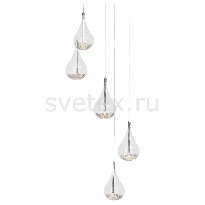 Подвесная люстра BrilliantЛюстры<br>Артикул - BT_G14773_15,Бренд - Brilliant (Германия),Коллекция - Maira,Гарантия, месяцы - 24,Высота, мм - 1000-1450,Диаметр, мм - 410,Тип лампы - галогеновая,Общее кол-во ламп - 5,Напряжение питания лампы, В - 12,Максимальная мощность лампы, Вт - 20,Цвет лампы - белый теплый,Лампы в комплекте - галогеновые G4,Цвет плафонов и подвесок - неокрашенный,Тип поверхности плафонов - прозрачный,Материал плафонов и подвесок - стекло,Цвет арматуры - хром,Тип поверхности арматуры - глянцевый,Материал арматуры - металл,Количество плафонов - 5,Возможность подлючения диммера - можно,Компоненты, входящие в комплект - трансформатор 12В,Форма и тип колбы - пальчиковая,Тип цоколя лампы - G4,Цветовая температура, K - 2800 K,Экономичнее лампы накаливания - на 50%,Класс электробезопасности - I,Напряжение питания, В - 220,Общая мощность, Вт - 100,Степень пылевлагозащиты, IP - 20,Диапазон рабочих температур - комнатная температура,Дополнительные параметры - способ крепления светильника к потолку – на монтажной пластине<br>