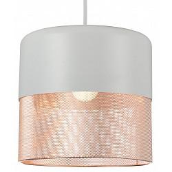Подвесной светильник ST-LuceБарные<br>Артикул - SL976.443.01,Бренд - ST-Luce (Китай),Коллекция - SL976,Гарантия, месяцы - 24,Высота, мм - 275-1100,Диаметр, мм - 215,Размер упаковки, мм - 285х285х340,Тип лампы - компактная люминесцентная [КЛЛ] ИЛИнакаливания ИЛИсветодиодная [LED],Общее кол-во ламп - 1,Напряжение питания лампы, В - 220,Максимальная мощность лампы, Вт - 60,Лампы в комплекте - отсутствуют,Цвет плафонов и подвесок - белый, медь,Тип поверхности плафонов - матовый,Материал плафонов и подвесок - металл,Цвет арматуры - белый,Тип поверхности арматуры - матовый,Материал арматуры - металл,Возможность подлючения диммера - можно, если установить лампу накаливания,Тип цоколя лампы - E27,Класс электробезопасности - I,Степень пылевлагозащиты, IP - 20,Диапазон рабочих температур - комнатная температура,Дополнительные параметры - регулируется по высоте, способ крепления светильника к потолку – на монтажной пластине<br>