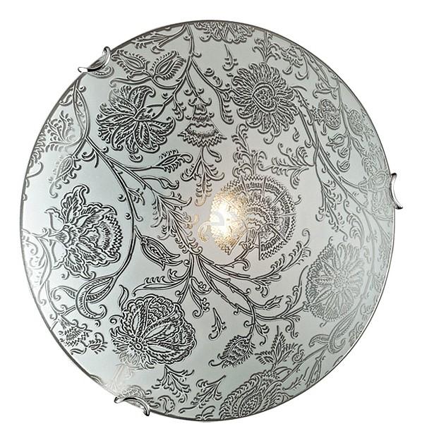 Накладной светильник SonexКруглые<br>Артикул - SN_179_K,Бренд - Sonex (Россия),Коллекция - Verita,Гарантия, месяцы - 24,Выступ, мм - 100,Диаметр, мм - 300,Тип лампы - компактная люминесцентная [КЛЛ] ИЛИнакаливания ИЛИсветодиодная [LED],Общее кол-во ламп - 2,Напряжение питания лампы, В - 220,Максимальная мощность лампы, Вт - 60,Лампы в комплекте - отсутствуют,Цвет плафонов и подвесок - белый с каймой и прозрачным рисунком,Тип поверхности плафонов - матовый,Материал плафонов и подвесок - стекло,Цвет арматуры - хром,Тип поверхности арматуры - глянцевый,Материал арматуры - металл,Количество плафонов - 1,Возможность подлючения диммера - можно, если установить лампу накаливания,Тип цоколя лампы - E27,Класс электробезопасности - I,Общая мощность, Вт - 120,Степень пылевлагозащиты, IP - 20,Диапазон рабочих температур - комнатная температура<br>