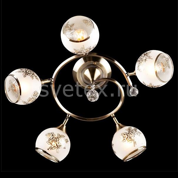 Накладной светильник ОптимаНакладные светильники<br>Артикул - EV_5889,Бренд - Оптима (Китай),Коллекция - 9611,Гарантия, месяцы - 24,Высота, мм - 300,Диаметр, мм - 560,Тип лампы - компактная люминесцентная [КЛЛ] ИЛИнакаливания ИЛИсветодиодная [LED],Общее кол-во ламп - 5,Напряжение питания лампы, В - 220,Максимальная мощность лампы, Вт - 60,Лампы в комплекте - отсутствуют,Цвет плафонов и подвесок - белый с рисунком, неокрашенный,Тип поверхности плафонов - матовый, прозрачный,Материал плафонов и подвесок - стекло, хрусталь,Цвет арматуры - бронза античная,Тип поверхности арматуры - глянцевый,Материал арматуры - металл,Количество плафонов - 5,Тип цоколя лампы - E27,Класс электробезопасности - I,Общая мощность, Вт - 300,Степень пылевлагозащиты, IP - 20,Диапазон рабочих температур - комнатная температура<br>