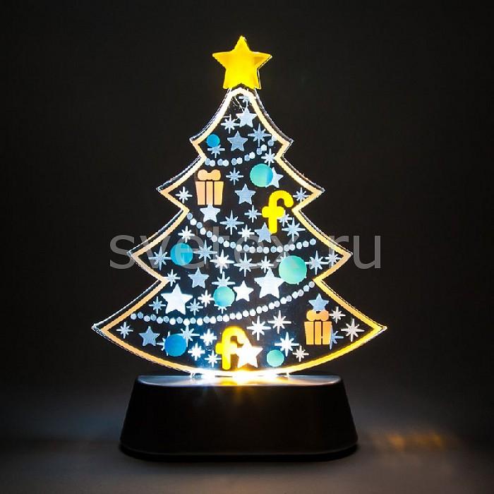 Фото Дед Мороз световой Feron 13 см x 18.5 см x 5 см LT097 С украшениями