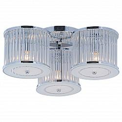 Потолочная люстра Arte LampНе более 4 ламп<br>Артикул - AR_A8240PL-3CC,Бренд - Arte Lamp (Италия),Коллекция - Glassy,Гарантия, месяцы - 24,Высота, мм - 210,Диаметр, мм - 540,Размер упаковки, мм - 530x490x260,Тип лампы - компактная люминесцентная [КЛЛ] ИЛИнакаливания ИЛИсветодиодная [LED],Общее кол-во ламп - 3,Напряжение питания лампы, В - 220,Максимальная мощность лампы, Вт - 40,Лампы в комплекте - отсутствуют,Цвет плафонов и подвесок - неокрашенный,Тип поверхности плафонов - матовый, прозрачный,Материал плафонов и подвесок - стекло, хрусталь,Цвет арматуры - хром,Тип поверхности арматуры - глянцевый,Материал арматуры - металл,Возможность подлючения диммера - можно, если установить лампу накаливания,Тип цоколя лампы - E14,Класс электробезопасности - I,Общая мощность, Вт - 120,Степень пылевлагозащиты, IP - 20,Диапазон рабочих температур - комнатная температура,Дополнительные параметры - способ крепления светильника к потолку – на монтажной пластине<br>