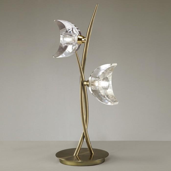 Фото Настольная лампа Mantra G9 220В 40Вт 2800-3200 K Eclipse Antique Brass 1480