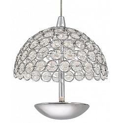 Подвесной светильник ST-LuceС 1 плафоном<br>Артикул - SL781.103.01,Бренд - ST-Luce (Китай),Коллекция - Satellite,Гарантия, месяцы - 24,Высота, мм - 950,Диаметр, мм - 160,Размер упаковки, мм - 670x295x455,Тип лампы - светодиодная [LED],Общее кол-во ламп - 1,Максимальная мощность лампы, Вт - 5,Лампы в комплекте - светодиодная [LED],Цвет плафонов и подвесок - неокрашенный,Тип поверхности плафонов - прозрачный,Материал плафонов и подвесок - хрусталь,Цвет арматуры - хром,Тип поверхности арматуры - глянцевый,Материал арматуры - металл,Возможность подлючения диммера - нельзя,Класс электробезопасности - I,Степень пылевлагозащиты, IP - 20,Диапазон рабочих температур - комнатная температура,Дополнительные параметры - способ крепления светильника к потолку – на монтажной пластине<br>
