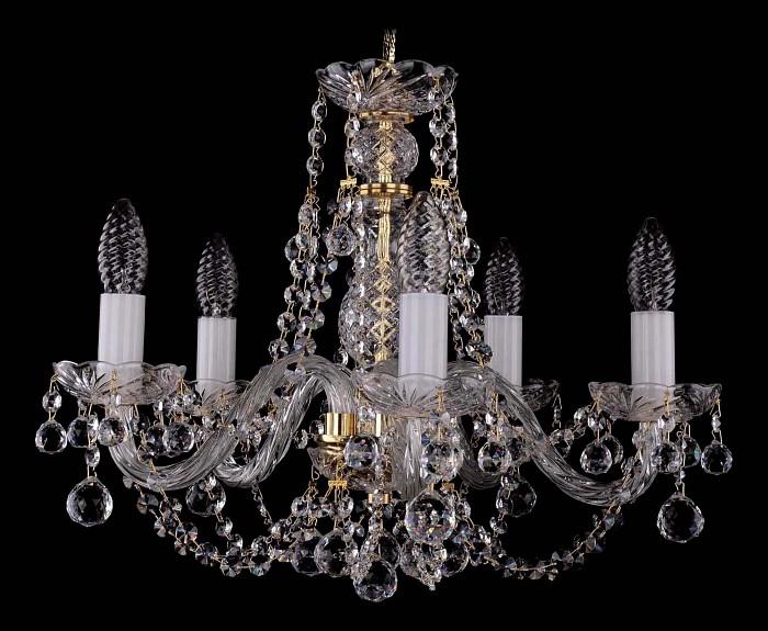 Фото Подвесная люстра Bohemia Ivele Crystal 1406 1406/5/160/Balls