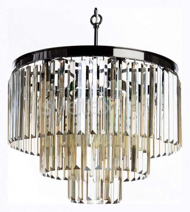 Подвесная люстра DivinareХРУСТАЛЬНЫЕ светильники<br>Артикул - DV_3002_06_SP-9,Бренд - Divinare (Италия),Коллекция - Nova cognac,Гарантия, месяцы - 24,Высота, мм - 600-1800,Диаметр, мм - 500,Тип лампы - компактная люминесцентная [КЛЛ] ИЛИнакаливания ИЛИсветодиодная [LED],Общее кол-во ламп - 9,Напряжение питания лампы, В - 220,Максимальная мощность лампы, Вт - 40,Лампы в комплекте - отсутствуют,Цвет плафонов и подвесок - коньяк,Тип поверхности плафонов - прозрачный,Материал плафонов и подвесок - хрусталь,Цвет арматуры - хром черный,Тип поверхности арматуры - глянцевый,Материал арматуры - металл,Количество плафонов - 1,Возможность подлючения диммера - можно, если установить лампу накаливания,Тип цоколя лампы - E14,Класс электробезопасности - I,Общая мощность, Вт - 360,Степень пылевлагозащиты, IP - 20,Диапазон рабочих температур - комнатная температура,Дополнительные параметры - способ крепления светильника к потолку - на крюке, регулируется по высоте<br>