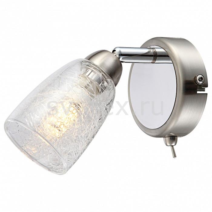 Бра GloboТочечные светильники<br>Артикул - GB_56023-1,Бренд - Globo (Австрия),Коллекция - Crash,Гарантия, месяцы - 24,Ширина, мм - 85,Высота, мм - 145,Выступ, мм - 145,Размер упаковки, мм - 130x110x115,Тип лампы - светодиодная [LED],Общее кол-во ламп - 1,Напряжение питания лампы, В - 220,Максимальная мощность лампы, Вт - 3,Цвет лампы - белый теплый,Лампы в комплекте - светодиодная [LED] G9,Цвет плафонов и подвесок - неокрашенный,Тип поверхности плафонов - прозрачный,Материал плафонов и подвесок - стекло,Цвет арматуры - никель, хром,Тип поверхности арматуры - глянцевый, сатин,Материал арматуры - металл,Количество плафонов - 1,Наличие выключателя, диммера или пульта ДУ - выключатель,Форма и тип колбы - пальчиковая,Тип цоколя лампы - G9,Цветовая температура, K - 3000 K,Световой поток, лм - 280,Экономичнее лампы накаливания - в 10.7 раза,Светоотдача, лм/Вт - 93,Класс электробезопасности - I,Степень пылевлагозащиты, IP - 20,Диапазон рабочих температур - комнатная температура,Дополнительные параметры - способ крепления светильника к стене – на монтажной пластине, светильник предназначен для использования со скрытой проводкой, поворотный светильник<br>