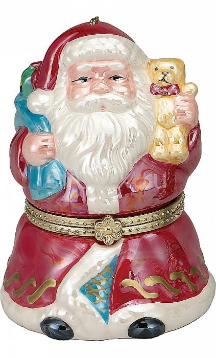 Дед Мороз Mister ChristmasДеды Морозы<br>Артикул - MC_G16321,Бренд - Mister Christmas (Россия),Коллекция - Дед Мороз,Высота, мм - 110,Высота - 11 см,Цвет - красный,Материал - полимер,Дополнительные параметры - новогодняя мелодия, движениезаводной механизм<br>